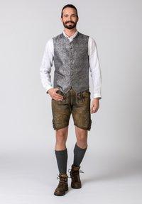 Stockerpoint - JORDAN - Waistcoat - grey - 1