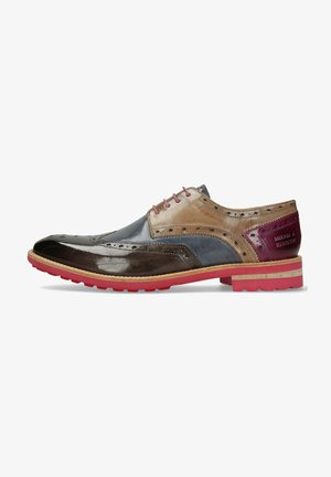 EDDY 5  - Smart lace-ups - multicolor