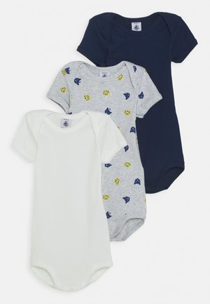 BABY 3 PACK - Body - dark blue/grey/white