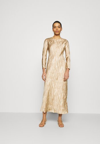 BIAS DRESS - Maxi dress - brown