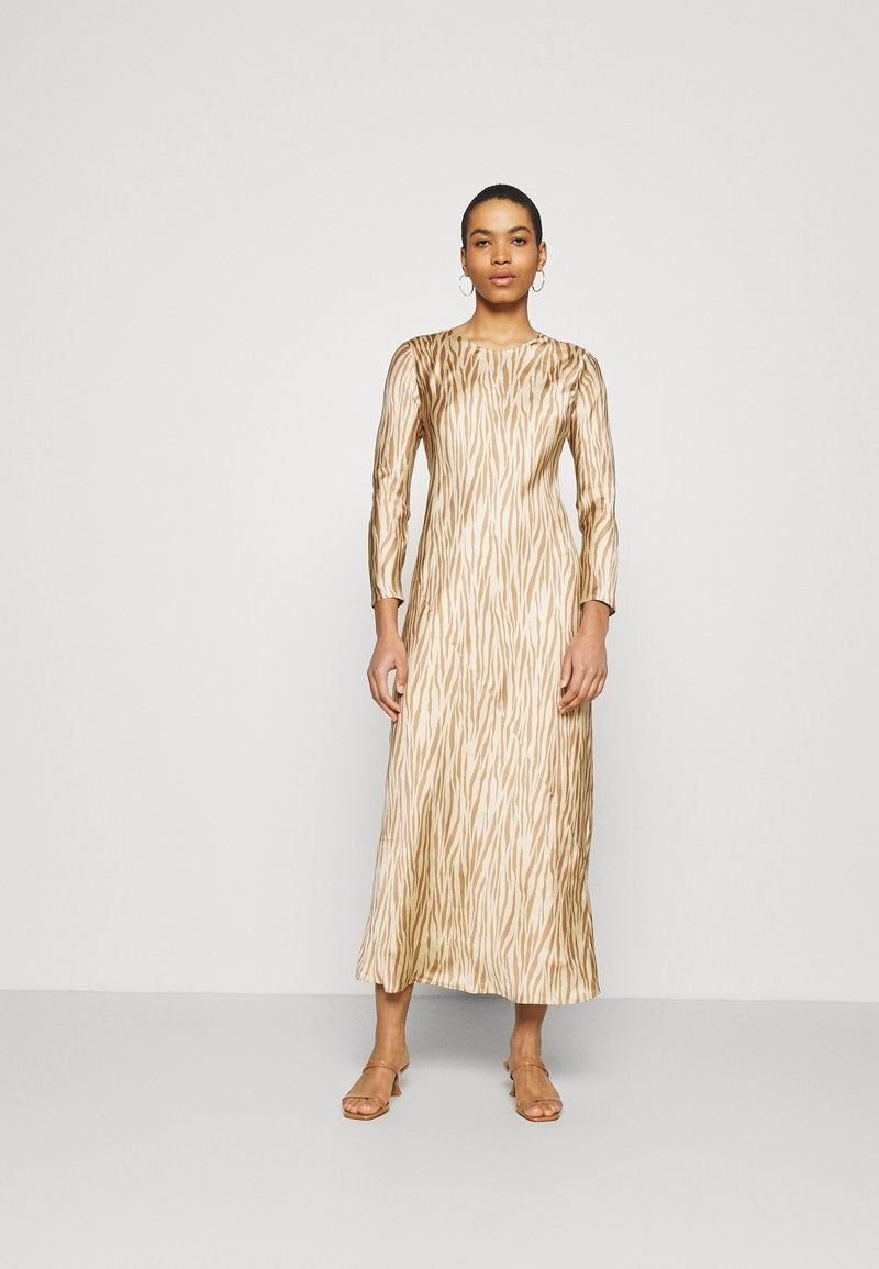 Banana Republic - BIAS DRESS - Maxi dress - brown