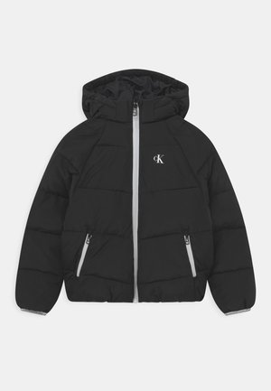 RELAXED PUFFER - Winter jacket - black
