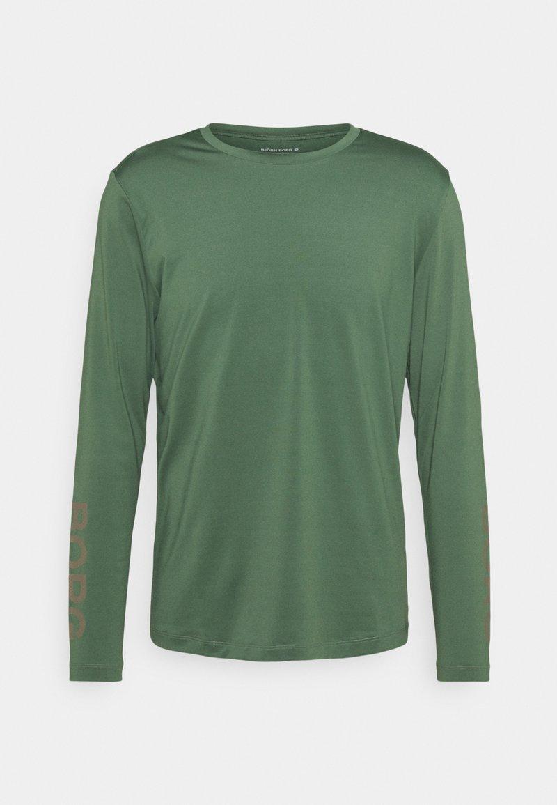 Björn Borg - TEE - Long sleeved top - duck green