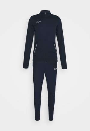 DRY ACADEMY SUIT SET - Tracksuit - obsidian/white