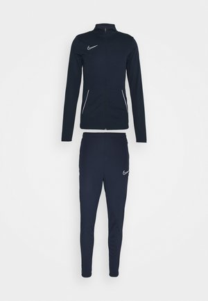 SUIT SET - Tracksuit - obsidian/white