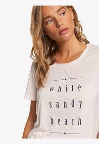 Roxy - ROXY™ CHASING THE SWELL - T-SHIRT FOR WOMEN ERJZT04795 - Print T-shirt - peach blush - 4