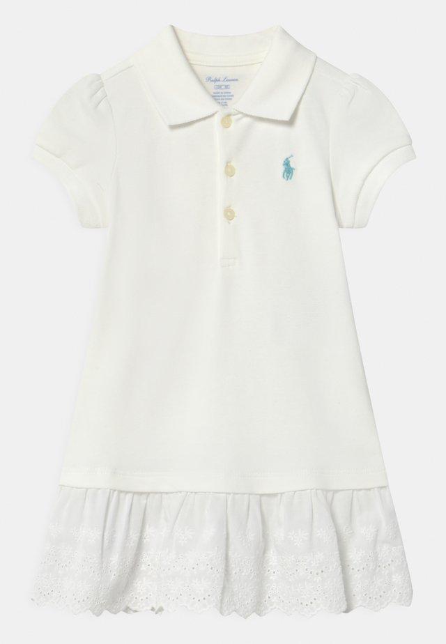 SET - Korte jurk - white