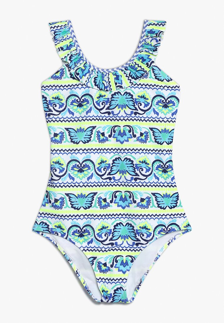 Sunuva Girls Frill Scoop - Bañador Blue
