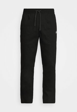 DOWNTOWN TWILL PANTS - Pantalon classique - black