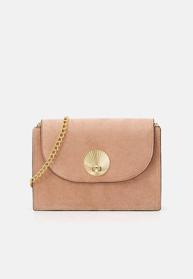 SHELLY  SHELL CHAIN SHOULDER - Borsa a tracolla - oatmeal