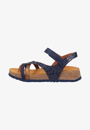 T-bar sandals - indigo kombi