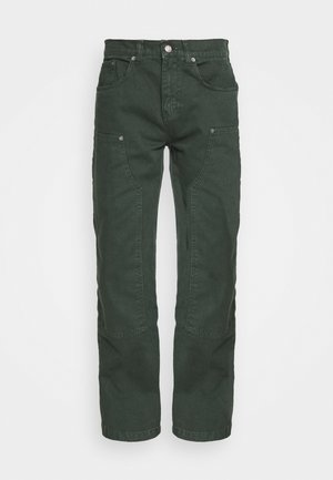 WASHED CARPENTER - Džíny Relaxed Fit - green