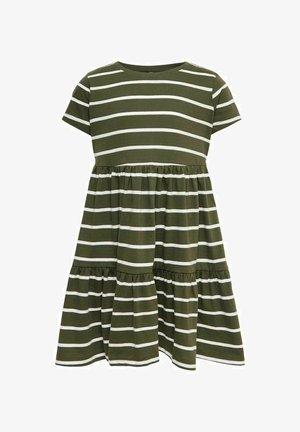 RÜSCHEN - Jersey dress - kalamata