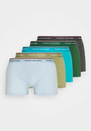 TRUNK 5 PACK - Panties - blue/green/khaki
