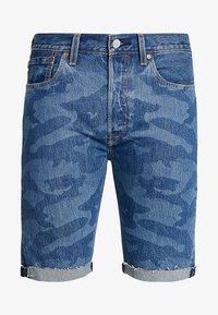 Levi's® - 501® ORIG CUTOFF  - Szorty jeansowe - blue denim - 4