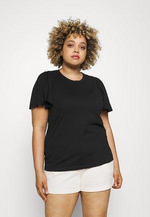 VMONELLA O NECK - T-shirts - black