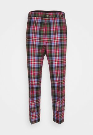 CROPPED GEORGE TROUSERS - Trousers - brick
