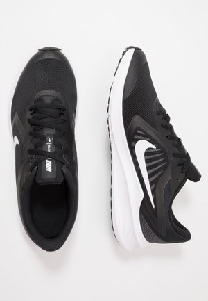 DOWNSHIFTER 10 - Neutral running shoes - black/white/anthracite
