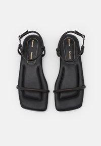 Proenza Schouler - SQUARE PADED FLAT - Sandals - black - 4