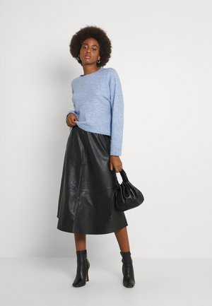 VMPLAZA BOXY - Pullover - grapemist