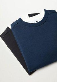 Mango - 2 PACK  - Sweatshirt - bleu marine foncé - 4