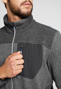 CMP - MAN JACKET - Fleece jacket - antracite - 5