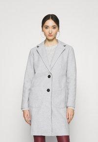 JDY - JDYBONDY - Classic coat - light grey melange - 0