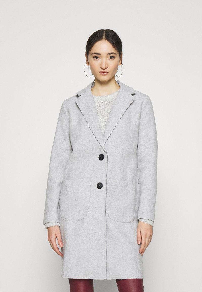 JDY - JDYBONDY - Classic coat - light grey melange