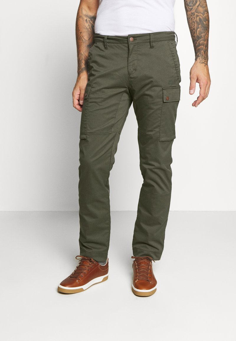 Jack Wolfskin - ARCTIC ROAD CARGO - Outdoor trousers - brownstone