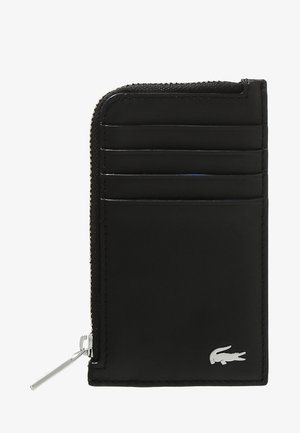 ZIP CREDIT CARD HOLDER - Monedero - black