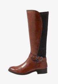 Caprice - BOOTS - Vysoká obuv - cognac - 1