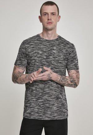 T-shirt imprimé - black/grey