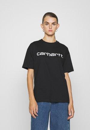 SCRIPT - Print T-shirt - black/white