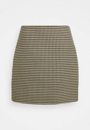 CENTIE SKIRT - Mini skirt - beige