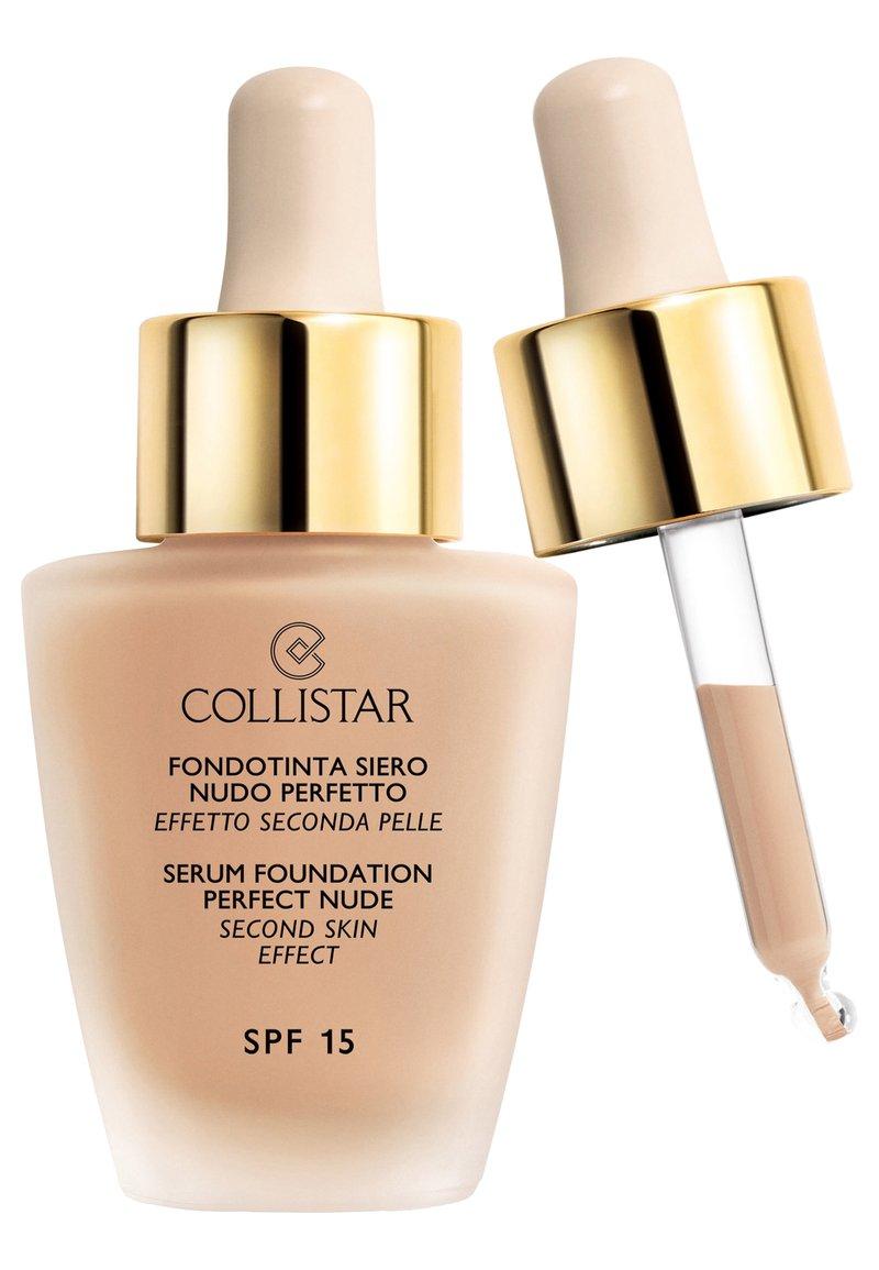 Collistar - SERUM FOUNDATION PERFECT NUDE - Foundation - n.4 sand