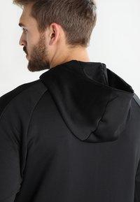 Hummel - TECH MOVE ZIP HOOD - Training jacket - black - 7
