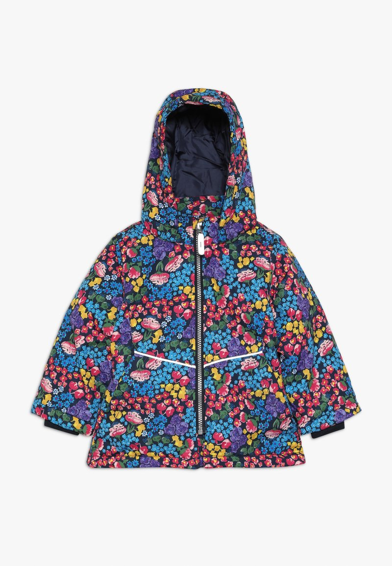 Name it - NMFMAXI JACKET FLOWER FIELD - Zimní bunda - dark sapphire