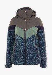 Brunotti - JUNGLEFOWL WOMEN SNOWJACKET - Snowboard jacket - pine grey - 9