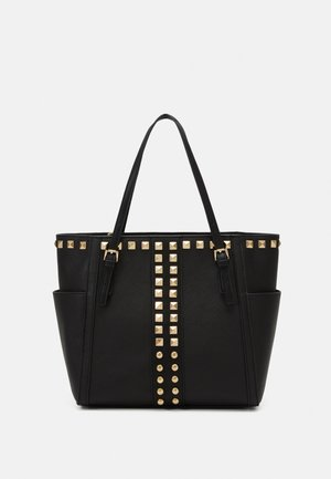 BHARVEY TOTE - Shopping bags - black/gold-coloured