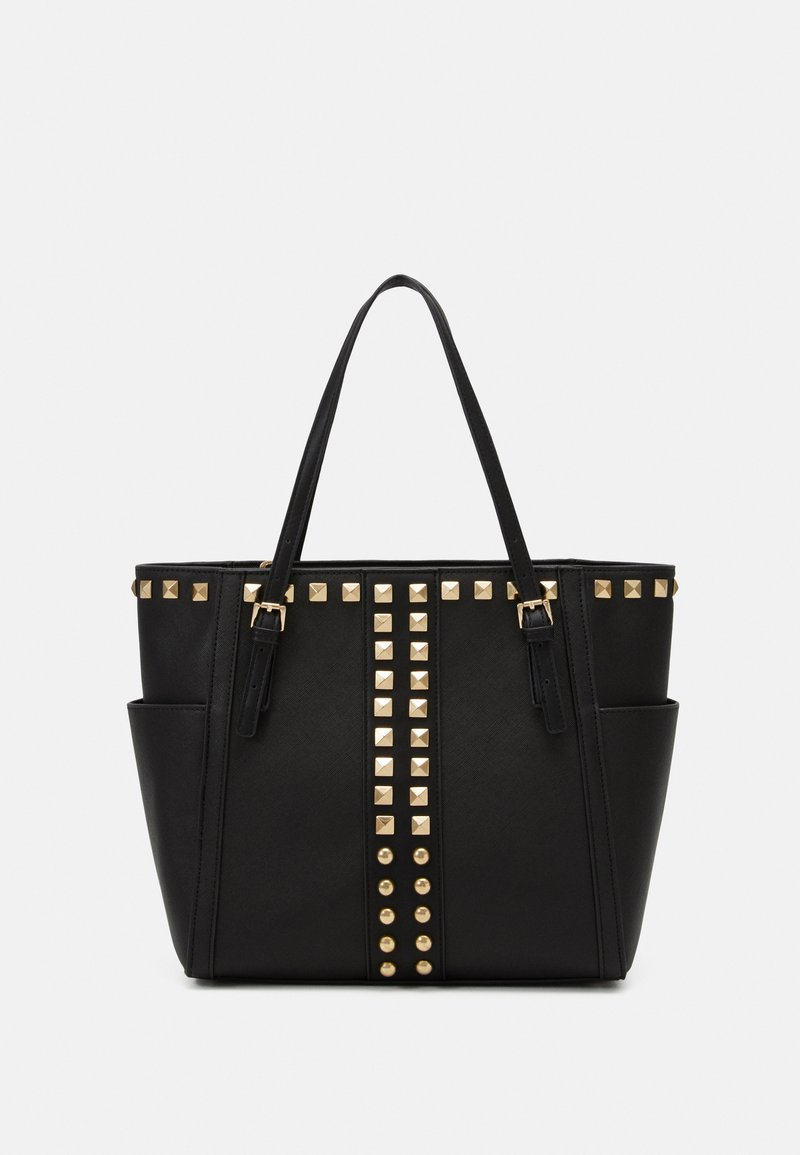 Steve Madden - BHARVEY TOTE - Tote bag - black/gold-coloured