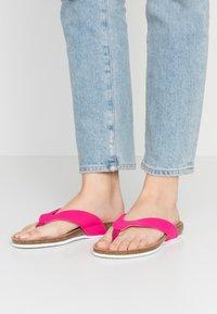Scholl - TISTOIS - T-bar sandals - fuchsia - 0