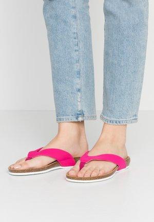 TISTOIS - T-bar sandals - fuchsia