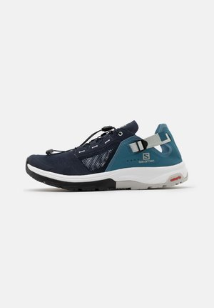 TECH AMPHIB 4 - Hiking shoes - navy blazer/bluestone/lunar rock