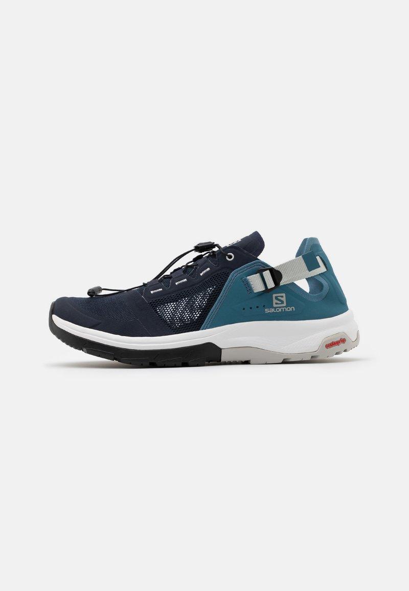 Salomon - TECH AMPHIB 4 - Hiking shoes - navy blazer/bluestone/lunar rock