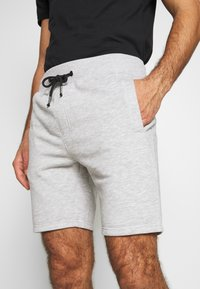 Pier One - Pantaloni sportivi - light grey - 4