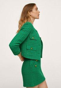 Mango - WINTOUR - A-line skirt - groen - 3