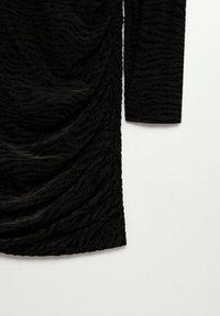 Mango - PLUMA - Cocktail dress / Party dress - nero - 6