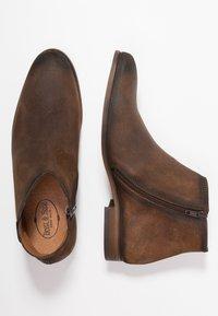 Brett & Sons - Kotníkové boty - baby cognac - 1