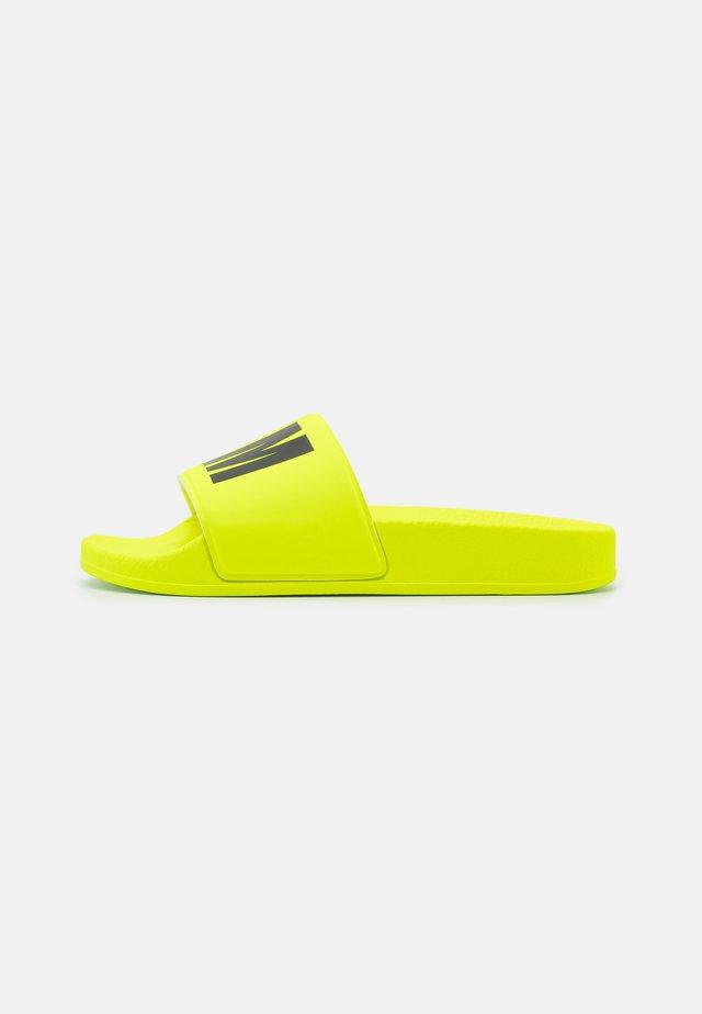 UNISEX - Muiltjes - neon yellow