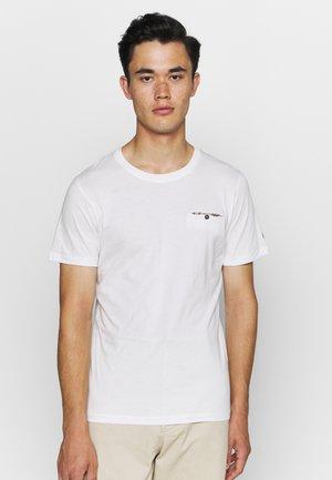 JPRDEPP POCKET TEE - Basic T-shirt - blanc de blanc